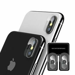 2pc Camera Lens Tempered Glass Screen Protector For iPhone X