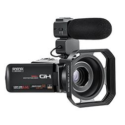 Video Camera ORDRO Camcorder 1080P 30FPS Full HD Wi-Fi Camer