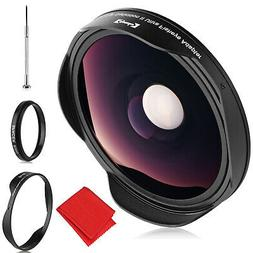 3x fisheye lens for canon sony jvc