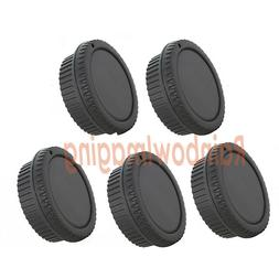 Rear Lens Covers Camera Body Caps for Canon Rebel T100 T7i