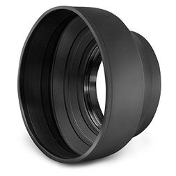 52MM Altura Photo Collapsible Rubber Lens Hood for Camera Le