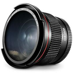Altura Photo 58MM 0.35x Fisheye Wide Angle Lens for Canon DS