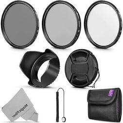 67MM Altura Photo UV CPL ND4 Professional Lens Filter Kit an