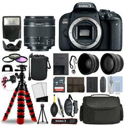 Canon 800D / T7i SLR Camera with 18-55mm STM+ 16GB 3 Lens Ul