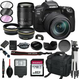 Canon 90D Digital SLR Camera with 18-135 is USM Lens +128GB