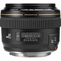 Canon EF 28mm f/1.8 USM Wide Angle Lens for Canon SLR Camera