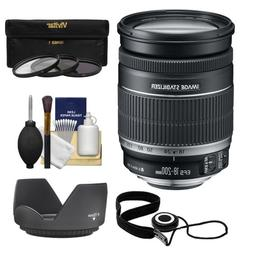 Canon EF-S 18-200mm f/3.5-5.6 IS Zoom Lens with 3 UV/FLD/CPL