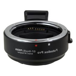 Fotodiox Pro Fusion Smart Adapter - Canon EOS  D/SLR Lens to