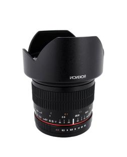 Rokinon 10mm F2.8 ED AS NCS CS Ultra Wide Angle Lens Canon E