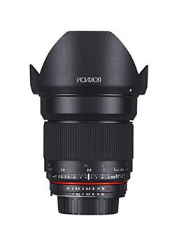 Rokinon 16MAF-N 16mm f/2.0 Aspherical Wide Angle Lens for Ni