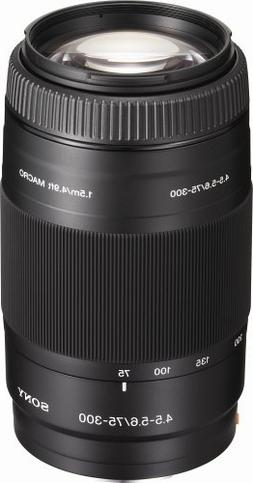 Sony 75-300mm f/4.5-5.6 Compact Super Telephoto Zoom Lens fo