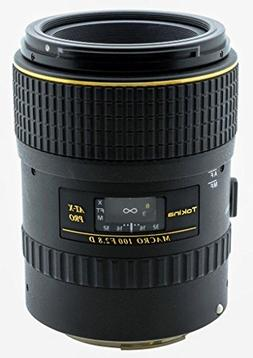 Tokina AT-X 100mm f/2.8 PRO D Macro Lens for Canon EOS Digit