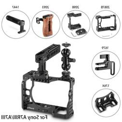 SmallRig Camera Cage/Handle Grip/Cable Clamp/ Lens Mount for