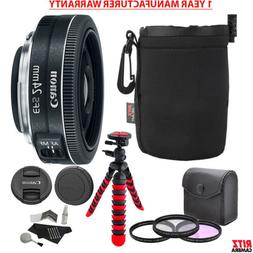 """Canon EF-S 24mm f/2.8 STM Lens, Camera Lens, 12"""" Table Top T"""