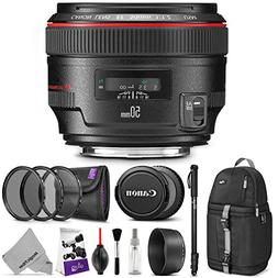 Canon EF 50mm f/1.2L USM Lens w/Advanced Photo and Travel Bu