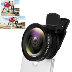 Clip on Fish eye Wide Angle Lens Camera kit for iPhone/Samsu