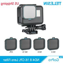 TELESIN CPL ND4 ND8 ND16 Set Camera Lens Filter For GoPro He