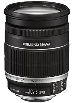 Canon EF-S 18-200 mm f/3.5-5.6 IS Standard Zoom Lens