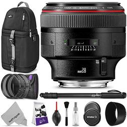 Canon EF 85mm f/1.2L II USM Lens w/Advanced Photo and Travel