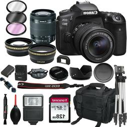 Canon EOS 90D  Digital SLR Camera with 18-55mm EF-S IS STM L