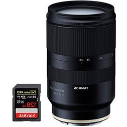 Tamron 28-75mm F/2.8 Di III RXD Full Frame E-mount Lens for