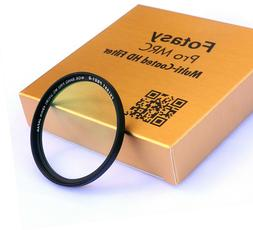 52mm Fader ND Filter Neutral Density ND2 to ND400 Multi-Coat