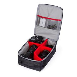 G-raphy 8.6x12.6x6-Inch Camera Insert Bag with Sleeve