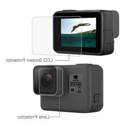 For Gopro Hero 5/6/7 Camera Accessories Lens Cap Screen Prot