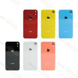 iPhone XR Back Rear Glass Cover with Camera Lens