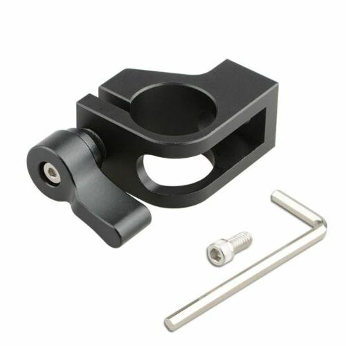 """CAMVATE 19mm Rod Clamp with 1/4""""-20 Thread Mount for Camera"""