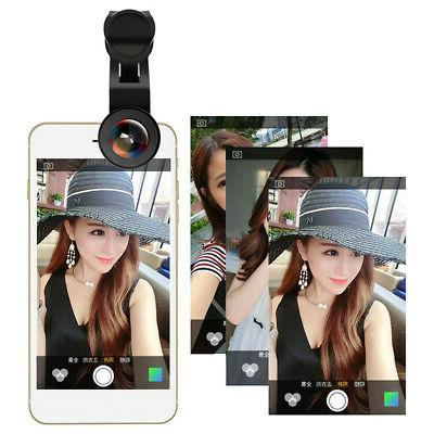 0.45X Wide Angle & 15X Macro Lens 2 in 1 Cell Phone Camera L
