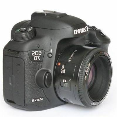 50mm F1.8 for Canon Mark III 700D D3300 T3i T5 T7i
