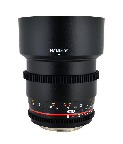 Rokinon T1.5 Cine Aspherical for Fixed for Micro