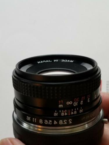 contax yashica 50mm f 2 0 lens