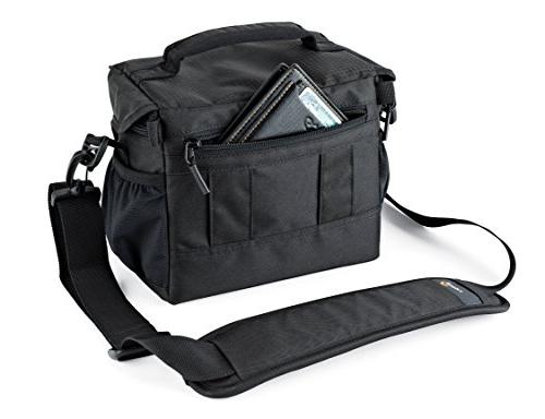 Lowepro Nova 160 AW. DSLR Shoulder for Pro Attached 17-85mm Compact Photo Drone.
