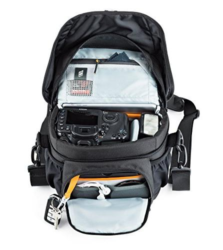 Lowepro 160 AW. DSLR Camera Bag for Attached 17-85mm Photo Drone.