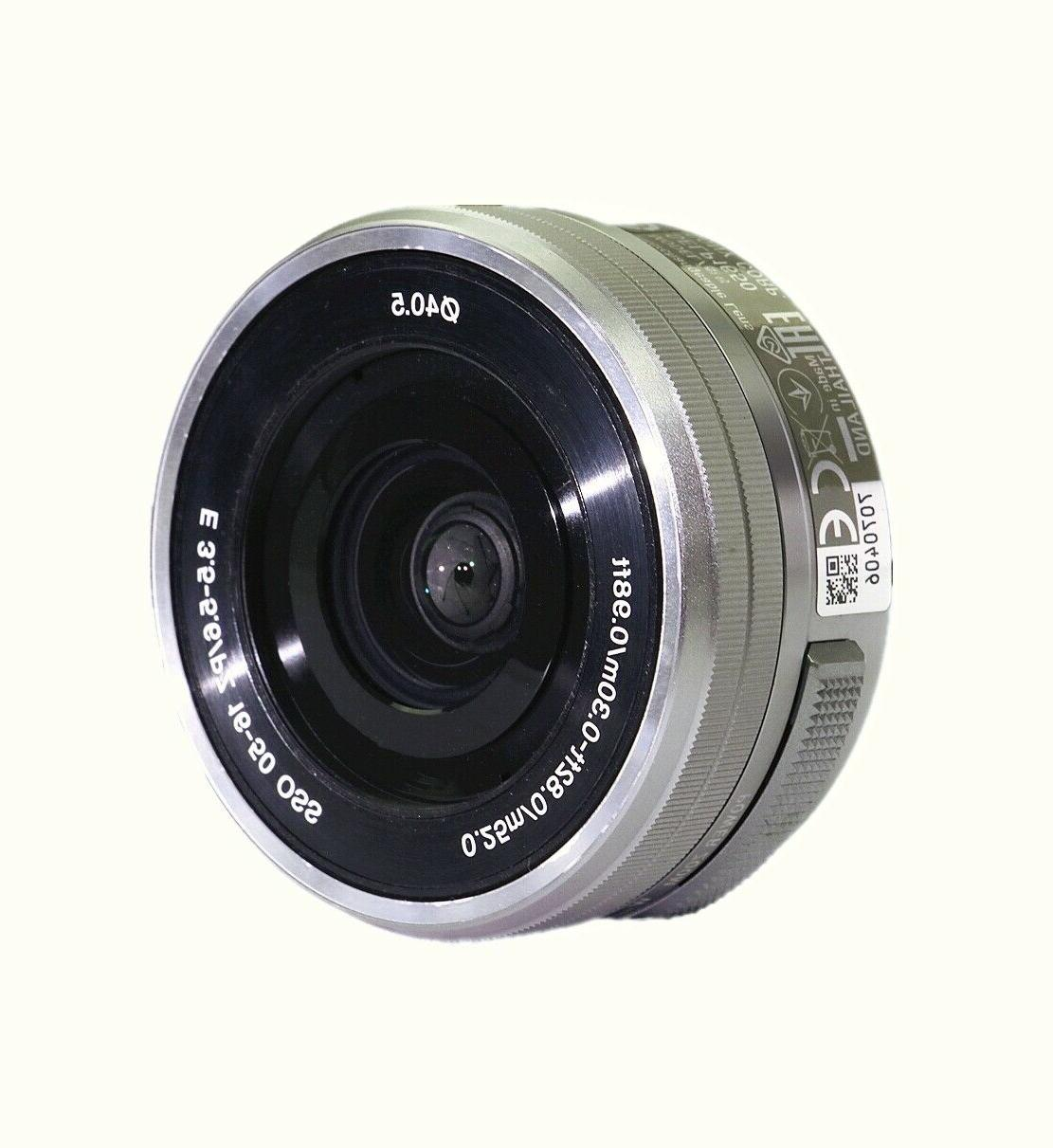 Sony 16-50mm f/3.5-5.6 Power zoom lens SELP1650 for Sony Cameras