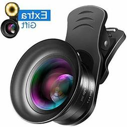 Lens Attachments Cell Phone Camera Kit - 4K HD 7 Optical Gla
