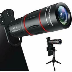 Lens Attachments Cell Phone Lens, 18X Zoom Telephoto With Tr