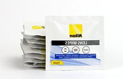 Nikon Pre-Moistened Lens Cleaning Wipes - Cleans Without Str