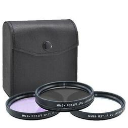 3 Piece Multi Coated HD Filter Kit  49MM  BRAND NEW