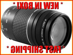 *NEW * Canon EF 75-300mm f/4-5.6 III Zoom Lens ALL CANON SLR