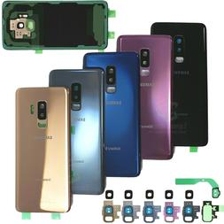 For Samsung Galaxy S9/S9 Plus Replacement Back Glass+Camera