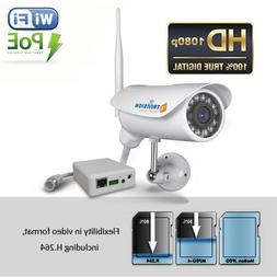 TriVision Outdoor Security Camera Wireless HD 1080P IP Netwo
